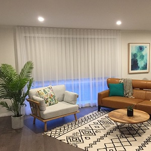 Living Room Blinds   Create your own style with Roller ...