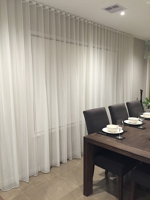 Sheer Curtains Specifications, Ceiling Hang Sheer Curtains