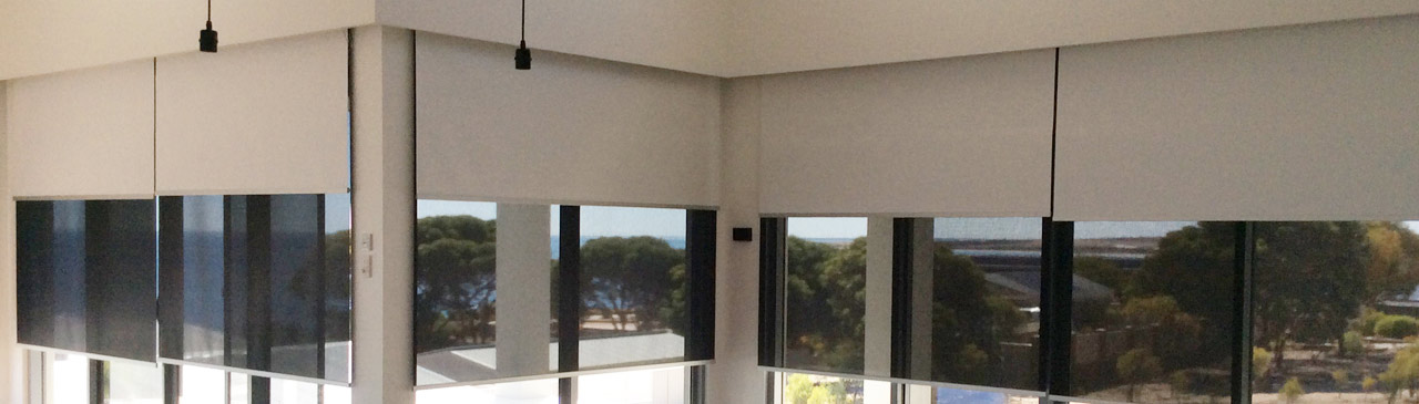 Double Linked Roller Blinds