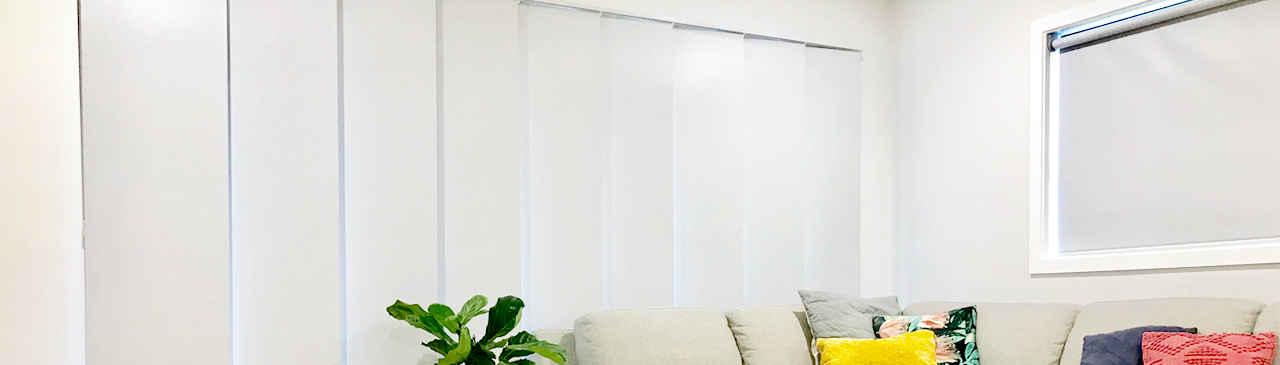 Specifications: Panel Glide Blinds