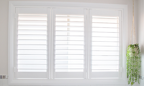 PVC Plantation Shutter Top & Bottom Rail Dimensions
