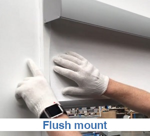 Pelmet 95 sits flush with the architrave