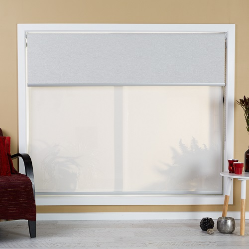 Double Roller Shades : Iseek blinds double roller blind